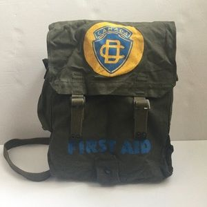 Other - Rare Canadian Civil Defense Haversack